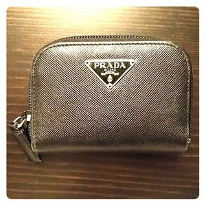 Prada coin purse
